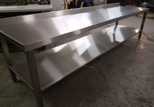 Stainless steel tables and other designs